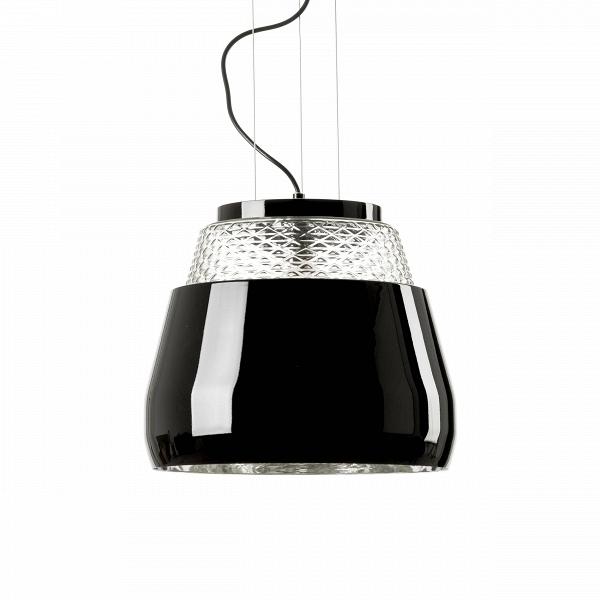 Подвесной светильник Valentine диаметр 35Подвесные<br>«Тайное волшебство зеркал и эстетика хрусталя способна превратить любую оболочку в необъятный букет цветов», — говорит датский дизайнерВМарсель Вандерс, подаривший нам потрясающий подвесной светильник Valentine диаметр 35.<br> <br> Подвесной светильникВValentine диаметр 35 — глянцевый черный или белый абажур, обрамляющий струящийся свет. ОнВбудто оберегает сердцевину из хрустальных цветов, застывших во времени, столь драгоценную и хрупкую, как воспоминания влюбленных, как впечатлен...<br><br>stock: 0<br>Высота: 180<br>Диаметр: 35,5<br>Количество ламп: 1<br>Материал абажура: Стекло<br>Материал арматуры: Алюминий<br>Мощность лампы: 40<br>Ламп в комплекте: Нет<br>Напряжение: 220<br>Тип лампы/цоколь: E27<br>Цвет абажура: Черный<br>Дизайнер: Marcel Wanders