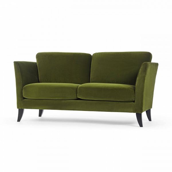 Диван KorianderДвухместные<br>Простой и элегантный дизайнерский диван Koriander станет уютным дополнением для любого помещения. Его дизайн способен гармонично влиться практически в любую обстановку: от классики и модерна до современного минимализма или китча.<br><br><br> Модель изготовлена из прочных, практичных материалов, которые устойчивы к воздействию различных внешних факторов (солнечные лучи, перепады температуры) и легко поддаются чистке. Изделие отличается продуманным дизайном: высокие, немного изогнутые подлокотники...<br><br>stock: 0<br>Высота: 81<br>Высота сиденья: 46<br>Глубина: 91<br>Длина: 170<br>Цвет ножек: Черный<br>Материал обивки: Хлопок<br>Степень комфортности: Стандарт комфорт<br>Форма подлокотников: Стандарт<br>Коллекция ткани: Exclusive<br>Тип материала обивки: Ткань<br>Тип материала ножек: Дерево<br>Цвет обивки: Зеленый