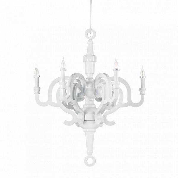 Подвесной светильник 1023S-700Подвесные<br><br><br>stock: 0<br>Высота: 74<br>Диаметр: 70<br>Количество ламп: 6<br>Материал арматуры: Дерево<br>Мощность лампы: 40<br>Ламп в комплекте: Нет<br>Тип лампы/цоколь: E14<br>Цвет арматуры: Белый