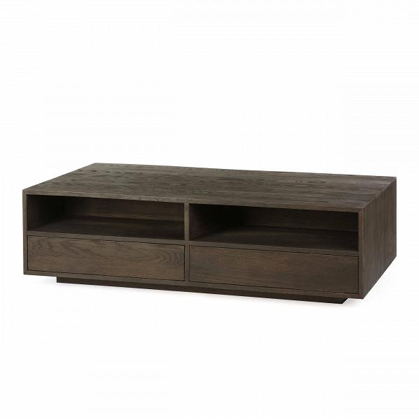 Кофейный стол LucienКофейные столики<br>Кофейный стол Lucien представляет собой роскошный предмет мебели, выполненный в элегантном классическом стиле. Благодаря своей правильной форме изделие очень функционально и вместительно. Внутри него имеются удобные полки, которые могут стать хранилищем самых разных предметов, от газет и журналов до бытовых предметов.<br><br><br> Кроме двух открытых полок, стол оснащен еще и нижними отделениями, которые скрываются за дверцами. У них нет рукояток, но открываются дверцы очень просто и удобно: одн...<br><br>stock: 8<br>Высота: 40<br>Ширина: 80<br>Длина: 140<br>Материал каркаса: Массив дуба<br>Тип материала каркаса: Дерево<br>Цвет каркаса: Темно-коричневый