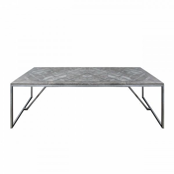 Обеденный стол EdelweissОбеденные<br>Обеденный стол Edelweiss – это сочетание простоты и изысканного стиля. Лаконичная форма изделия дополняется интересной опорной конструкцией и легким изящным узором на поверхности столешницы. Стол Edelweiss – это идеальное решение для просторных комнат. За ним сможет с удобством разместиться большое количество гостей или большая семья в полном составе.<br><br><br> Столешница изделия изготовлена мастерами из дубового массива – прекрасный материал, который долгое время будет радовать вас своим иде...<br><br>stock: 0<br>Высота: 78<br>Ширина: 100<br>Длина: 240<br>Цвет ножек: Темно-серый матовый<br>Цвет столешницы: Темно-коричневый состаренный<br>Материал ножек: Металл<br>Материал столешницы: Массив дуба<br>Тип материала столешницы: Дерево