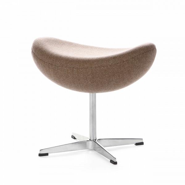 Оттоманка EggПуфы и оттоманки<br>Дизайн оттоманки Egg разработал популярный в 60–70-х годах дизайнер датского происхождения Арне Якобсен, который смог объединить в своих творениях своеобразие форм и исключительную эргономичность. Этот предмет мебели является «напарником» кресла Egg, однако может использоваться и самостоятельно благодаря своей вполне независимой конструкции.<br><br><br> Предлагаемая модель оттоманки выполнена в разнообразных — как ярких, так иВнейтральных — цветах, которые будут выгодно смотреться на любо...<br><br>stock: 0<br>Высота: 45,5<br>Ширина: 54<br>Глубина: 38,5<br>Цвет ножек: Анодированный<br>Материал сидения: Шерсть, Нейлон<br>Цвет сидения: Коричневый<br>Тип материала сидения: Ткань<br>Тип материала ножек: Алюминий<br>Дизайнер: Arne Jacobsen