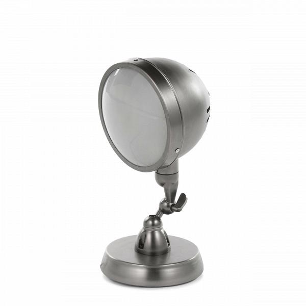 Настольный светильник ScalableНастольные<br>Дизайнерский черно-серый настольный светильник Scalable (Скэйлэбл) из стали в стиле лофт от Cosmo (Космо).<br><br><br> Оригинальное и неповторимое произведение дизайнерской фантазии, выполненное в современном стиле лофт, — вот что представляет собой настольный светильник Scalable. Необычное решение, напоминающее деталь какого-то причудливого механизма, светильник Scalable придаст любому помещению фантастический характер.<br><br><br> Настольный светильник Scalable изготовлен из прочной стали черно-серо...<br><br>stock: 5<br>Высота: 32<br>Длина: 18<br>Длина провода: 150<br>Количество ламп: 1<br>Материал абажура: Сталь<br>Мощность лампы: 40<br>Ламп в комплекте: Нет<br>Напряжение: 220<br>Тип лампы/цоколь: E27<br>Цвет абажура: Черно-серый<br>Цвет провода: Черный