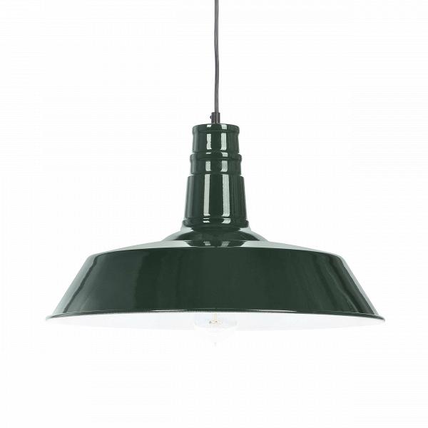 Подвесной светильник BKПодвесные<br><br><br>stock: 0<br>Высота: 29<br>Диаметр: 45<br>Длина провода: 120<br>Доп. цвет абажура: Белый<br>Материал абажура: Металл<br>Мощность лампы: 60<br>Тип лампы/цоколь: E27<br>Цвет абажура: Зеленый<br>Цвет провода: Черный