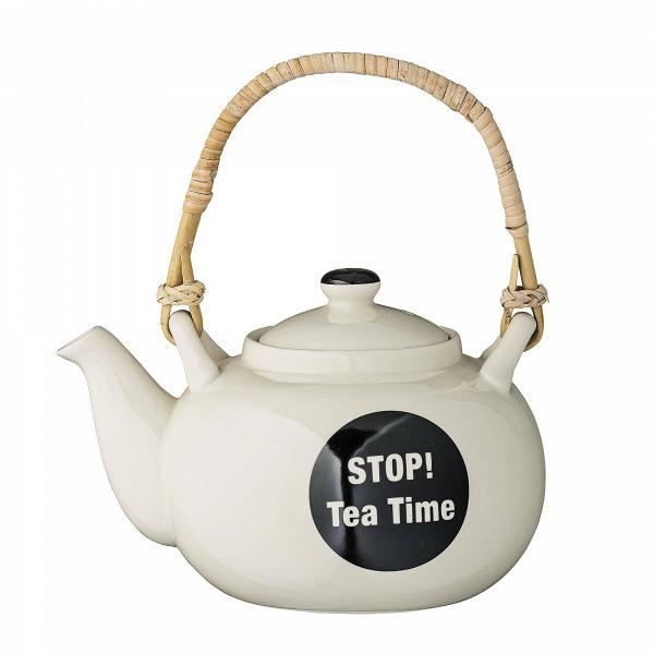 Заварник Stop! Tea TimeПосуда<br><br><br>stock: 0<br>Высота: 12<br>Материал: Керамика<br>Цвет: Слоновая кость<br>Диаметр: 18