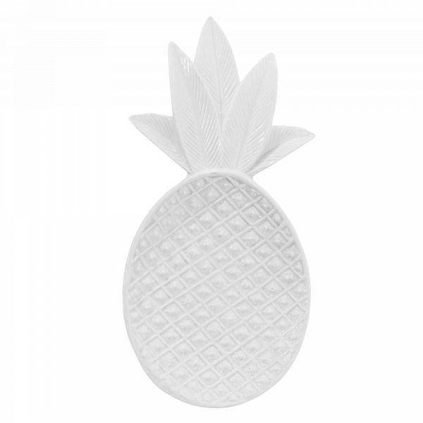Декоративный поднос в форме ананса белыйРазное<br><br><br>stock: 0<br>Ширина: 9<br>Материал: Керамика<br>Цвет: Белый<br>Длина: 19