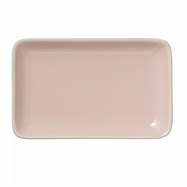 Тарелка Bloomingville прямоугольная  розоваяПосуда<br><br><br>stock: 0<br>Высота: 19<br>Ширина: 12<br>Материал: Керамика<br>Цвет: Розовый