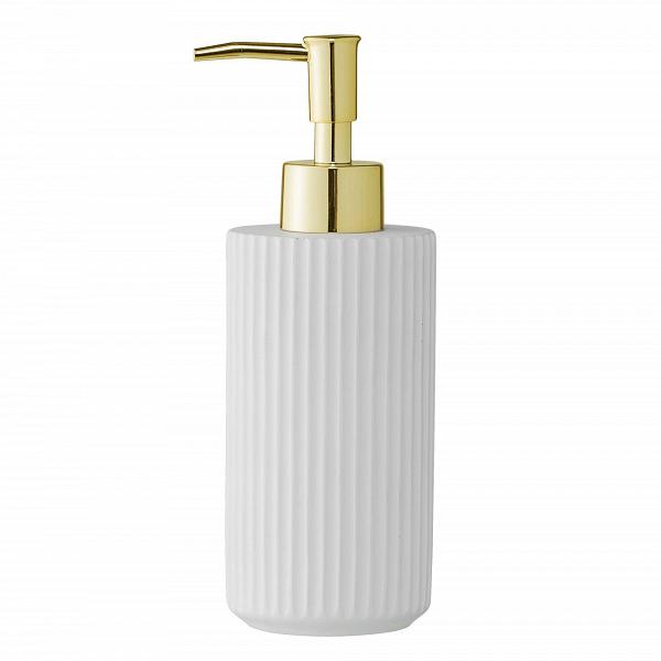 Диспенсер для мыла Costela WhiteРазное<br><br><br>stock: 0<br>Высота: 19<br>Материал: Фарфор<br>Цвет: Белый<br>Диаметр: 6,5