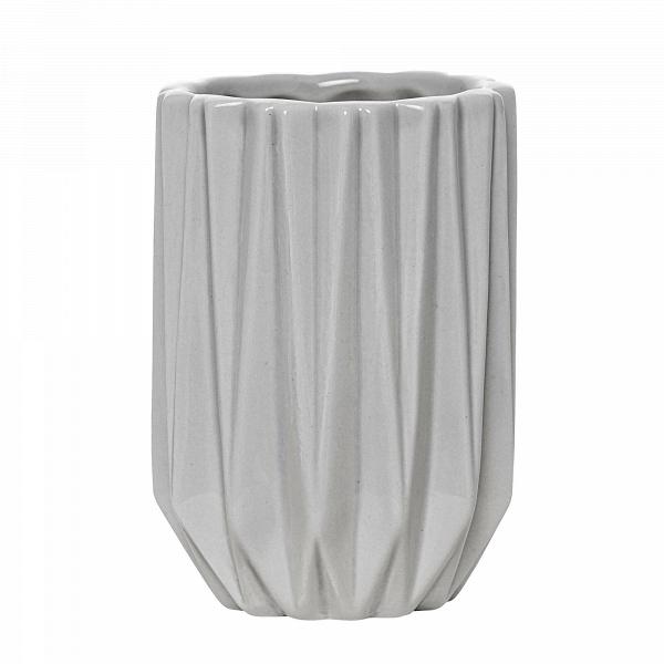 Стаканчик для ванных принадлежностей Geometric Grey