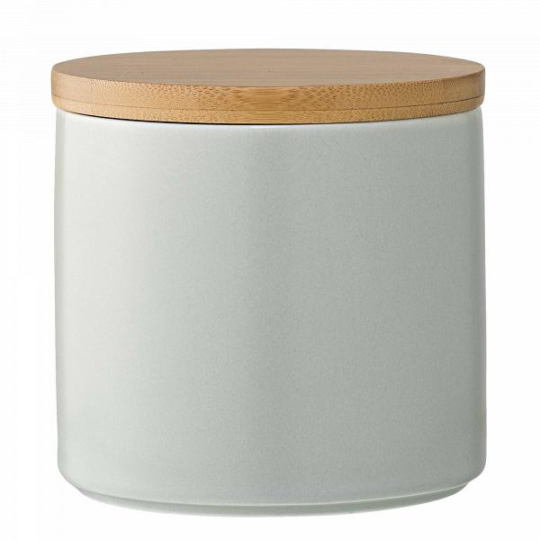Емкость для хранения с крышкой Wood &amp; GreyРазное<br><br><br>stock: 0<br>Высота: 12<br>Материал: Фарфор<br>Цвет: Серый<br>Диаметр: 11