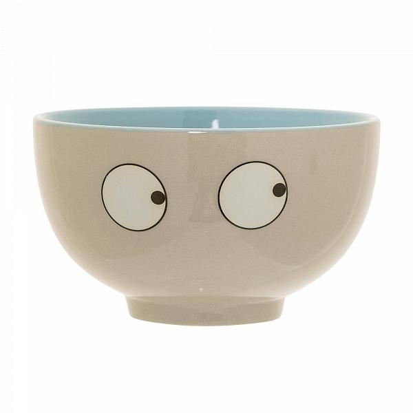 Чаша Eyes BlueПосуда<br><br><br>stock: 0<br>Высота: 6,5<br>Материал: Керамика<br>Цвет: Слоновая кость<br>Диаметр: 11,5