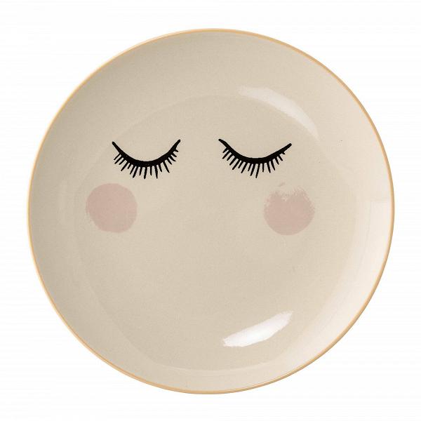 Тарелка Eyes RoseПосуда<br><br><br>stock: 0<br>Материал: Керамика<br>Цвет: Слоновая кость<br>Диаметр: 20