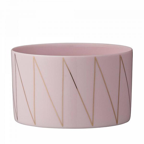 Подсвечник Rose &amp; GoldПодсвечники и свечи<br><br><br>stock: 12<br>Высота: 5<br>Материал: Фарфор<br>Цвет: Розовый<br>Диаметр: 8,5