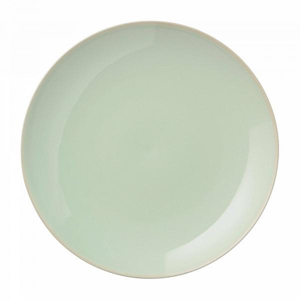Тарелка Bloomingville зеленаяПосуда<br><br><br>stock: 0<br>Материал: Керамика<br>Цвет: Зелёный<br>Диаметр: 16