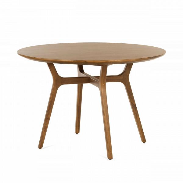 Обеденный стол Ren диаметр 110Обеденные<br>Современные тенденции в мире дизайнерского искусства направляют даже самые роскошные интерьеры в сторону минимализма и простоты. Проектировщики компании Stellar Works не оставили это без внимания и создали богатые мебельные коллекции, в которых каждая модель воплощает собой изысканный, элегантный минимализм. Обеденный стол Ren диаметр 110 – это очаровательная модель стола для небольшой домашней кухни, изготовленная из красивейшего природного материала.<br><br><br> Массив ореха является одним и...<br><br>stock: 0<br>Высота: 73<br>Диаметр: 110<br>Материал каркаса: Массив ореха<br>Тип материала каркаса: Дерево<br>Цвет каркаса: Орех