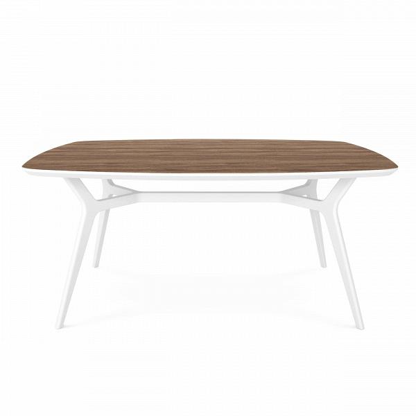 Обеденный стол Johann орех, белый