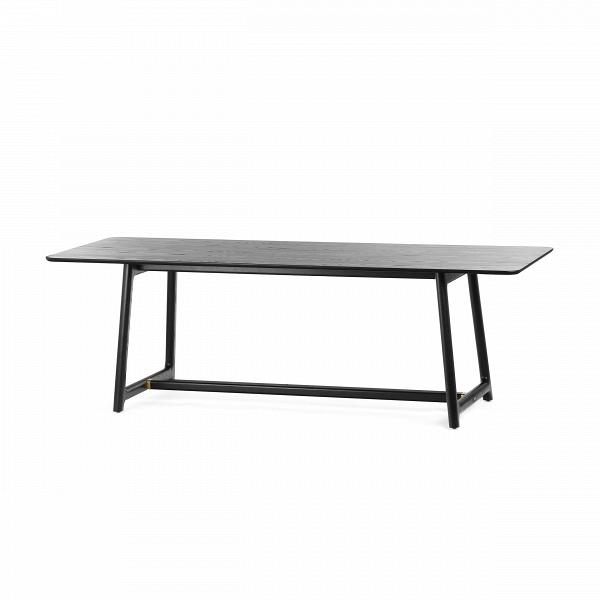 Обеденный стол MandarinОбеденные<br>Обеденный стол Mandarin представляет собой модель из одноименной коллекции мебели в китайском стиле. Несмотря на яркую восточную направленность этой коллекции обеденный стол Mandarin может легко слиться и с более привычным интерьером, оформленном в одном из современных стилей.<br><br><br> Обеденный стол Mandarin – это отличный образец надежности и прочности, что достигается тщательным подбором подходящих материалов и проработкой конструкции изделия. Весь корпус стола сделан из массива ясеня, кре...<br><br>stock: 0<br>Высота: 75<br>Ширина: 90<br>Длина: 210<br>Материал каркаса: Массив ясеня<br>Тип материала каркаса: Дерево<br>Цвет каркаса: Черный