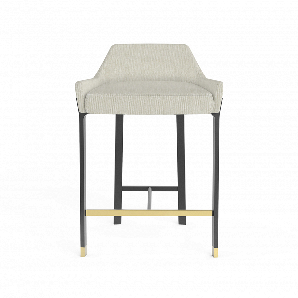 Полубарный стул BlinkПолубарные<br>Полубарные стулья в интерьере играют особенную роль – не только практичную, но и эстетическую. Такие изделия могут украсить интерьер. Полубарный стул Blink от компании Stellar Works – это идеальный вариант для стильного современного интерьера, который нужно дополнить красивой и по-домашнему уютной мебелью.<br><br><br> В создании полубарного стула Blink дизайнеры использовали красивую современную цветовую палитру – контрастную черно-белую гамму и немного цвета латуни. Для этого мастера выбрали ...<br><br>stock: 0<br>Высота: 72,7<br>Высота сиденья: 61<br>Ширина: 51,6<br>Глубина: 49,6<br>Цвет ножек: Черный<br>Материал сидения: Полиэстер, Полиуретан<br>Цвет сидения: Бело-серый<br>Цвет ножек дополнительный: Латунь<br>Тип материала сидения: Ткань<br>Коллекция ткани: Lamous<br>Тип материала ножек: Сталь