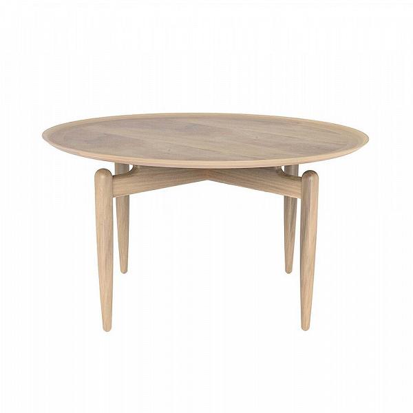 Кофейный стол SlowКофейные столики<br>Кофейный стол Slow обладает инновационным дизайном, который становится все более популярным в домашней среде. А точнее, становятся популярными модели столов, которые оснащены удобными бортиками. Они не слишком высокие, но их высоты достаточно для того, чтобы со стола ничего не пролилось на чистый ковер или паркет.<br><br><br> Мастера позаботились и о долговечности изделия. Стол изготавливается из массива ясеня, который издавна славится своей прочностью и практичностью, этот материал используют ...<br><br>stock: 0<br>Высота: 43,5<br>Диаметр: 80<br>Цвет ножек: Белый дуб<br>Цвет столешницы: Белый дуб<br>Материал ножек: Массив ясеня<br>Материал столешницы: Шпон ясеня<br>Тип материала столешницы: Дерево<br>Тип материала ножек: Дерево