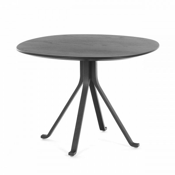 Кофейный стол Blink с деревянной столешницей диаметр 60Кофейные столики<br>Кофейный стол Blink с деревянной столешницей диаметр 60 – это изделие из одноименной линейки домашней мебели Blink от компании Stellar Works. Изделия этого бренда – это произведения искусства, сочетающие в себе утонченность Востока и функциональность Запада. Кофейный стол Blink обладает красивейшим дизайном, что достигается не только благодаря его форме и деталям, но и материалам, которые опытные мастера отбирают для его изготовления.<br><br><br> А материалы очень практичные и отлично подходят ...<br><br>stock: 0<br>Высота: 43<br>Диаметр: 60<br>Цвет ножек: Черный<br>Цвет столешницы: Черный<br>Материал ножек: Сталь<br>Материал столешницы: Шпон ясеня<br>Тип материала столешницы: Дерево