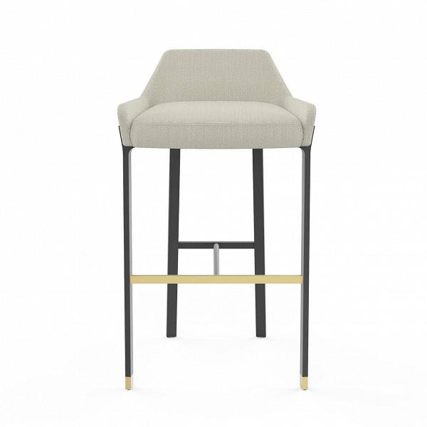 Барный стул BlinkБарные<br>Барные стулья в интерьере играют особенную роль – не только практичную, но и эстетическую. Такие изделия могут украсить интерьер. Барный стул Blink от компании Stellar Works – это идеальный вариант для стильного современного интерьера, который нужно дополнить красивой и по-домашнему уютной мебелью.<br><br><br> Барный стул Blink обладает такой конструкцией ножек, которая оснащена удобной опорой для ног и сиденья. Опора стула изготавливается из стали – практичного и надежного материала, который н...<br><br>stock: 0<br>Высота: 86,7<br>Высота сиденья: 75<br>Ширина: 51,6<br>Глубина: 51,2<br>Цвет ножек: Черный<br>Материал сидения: Полиэстер, Полиуретан<br>Цвет сидения: Бело-серый<br>Цвет ножек дополнительный: Латунь<br>Тип материала сидения: Ткань<br>Коллекция ткани: Lamous<br>Тип материала ножек: Сталь
