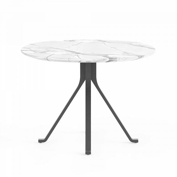Кофейный стол Blink с каменной столешницей диаметр 60Кофейные столики<br>Кофейный стол Blink с каменной столешницей диаметр 60 – это изделие из одноименной линейки домашней мебели Blink от компании Stellar Works. Изделия этого бренда – это произведения искусства, сочетающие в себе утонченность Востока и функциональность Запада. Кофейный стол Blink обладает красивейшим дизайном, что достигается не только его формой и деталями, но и используемыми материалами, которые опытные мастера отбирают для его изготовления.<br><br><br> Столешница изготавливается из натурального ...<br><br>stock: 0<br>Высота: 43<br>Диаметр: 60<br>Цвет ножек: Черный<br>Цвет столешницы: Белый<br>Материал ножек: Сталь<br>Тип материала столешницы: Натуральный камень