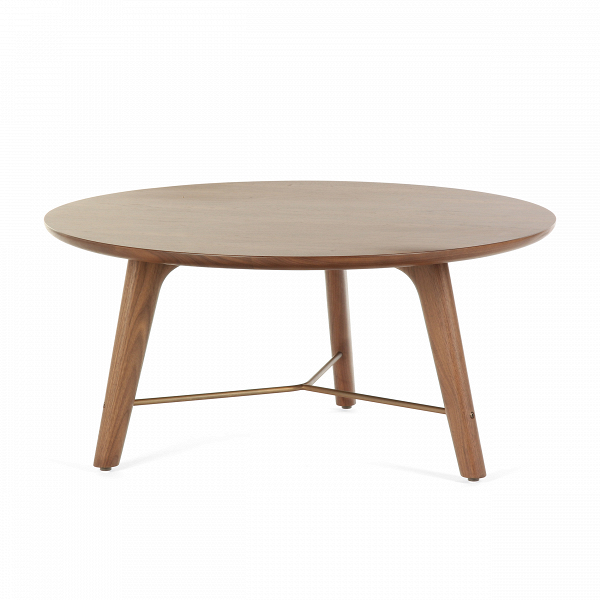 Кофейный стол Utility высота 39 диаметр 80Кофейные столики<br>Кофейный стол Utility высота 39 диаметр 80 – это простой, лаконичный и привлекательный элемент домашнего интерьера, созданный дизайнерами компании Stellar Works. В их творениях мягко переплетаются восточная утонченность и западная практичность, благодаря чему их мебель способна гармонично сочетаться с самыми разными дизайнерскими решениями.<br><br><br> Кофейный стол Utility высота 39 диаметр 80 – это яркий пример надежности и красоты изделий из орехового дерева. Орех считается одной из наиболее ...<br><br>stock: 0<br>Высота: 39<br>Диаметр: 80<br>Цвет ножек: Орех<br>Цвет столешницы: Орех<br>Материал ножек: Массив ореха<br>Материал столешницы: Шпон ореха<br>Тип материала столешницы: Дерево<br>Тип материала ножек: Дерево