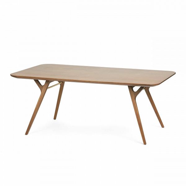Обеденный стол Ren 180х100Обеденные<br>Обеденный стол Ren 180х100 – это простой минималистичный вариант для любой современной кухни. Изделие отличается легким дизайном, оно не будет загромождать помещение, впустит в него больше света и воздуха.<br><br><br> Ореховый массив, из которого изготавливается эта модель, считается одним из наиболее надежных материалов, по прочности превосходит многие ценные породы. То же можно сказать и про декоративность ореха – во всем мире его высоко ценят как за красивые оттенки, так и за природный рисун...<br><br>stock: 0<br>Высота: 73<br>Ширина: 100<br>Длина: 180<br>Материал каркаса: Массив ореха<br>Тип материала каркаса: Дерево<br>Цвет каркаса: Орех