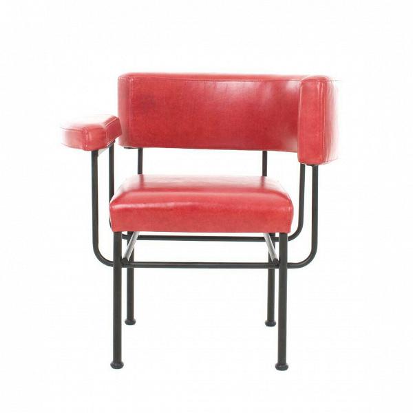 Кресло Cotton ClubИнтерьерные<br>Стильное и позитивное, кресло Cotton Club обладает яркой индивидуальностью, способной вмиг преобразить домашний интерьер, вдохнуть в него еще больше энергии, сочных цветов и новых форм. Дизайн этой модели разрабатывался проектировщиками Stellar Works – компании, создающей потрясающе красивые изделия, в которых изысканность и утонченность гармонично сочетаются с современным стилем и функциональностью.<br><br><br> Для «постройки» этого изделия используются самые современные и самые высококачеств...<br><br>stock: 0<br>Высота: 72<br>Высота сиденья: 44<br>Ширина: 72,8<br>Глубина: 57<br>Цвет ножек: Черный<br>Коллекция ткани: Crystal<br>Тип материала обивки: Кожа<br>Тип материала ножек: Сталь<br>Цвет обивки: Красный