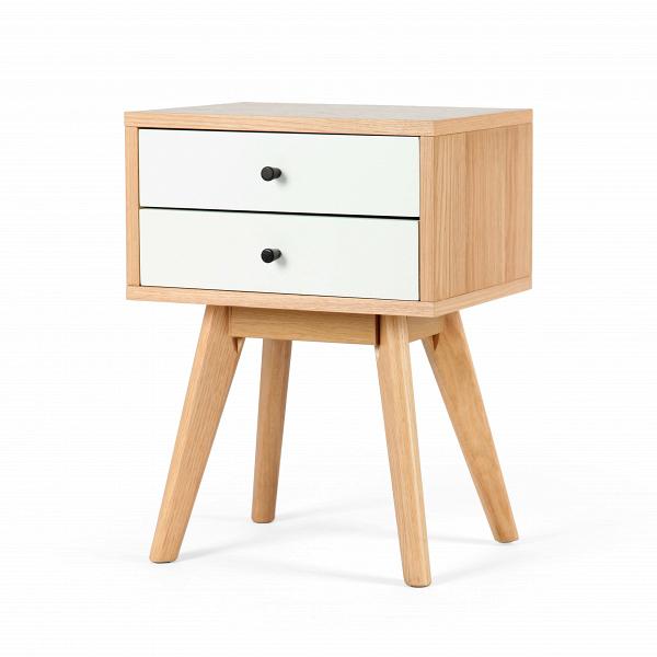 Тумба LocaТумбы и комоды<br>Тумба Loca – это универсальное дизайнерское изделие, которое можно использовать как дополнение для мебельного ансамбля гостиной комнаты или прихожей, так и в качестве удобной прикроватной тумбочки. Стильный, но в то же время спокойный дизайн этой модели позволяет гармонично вписать ее даже в самый теплый и уютный интерьер.<br><br><br> Тумба Loca отличается высоким качеством материалов и всех деталей, которые используются для ее изготовления. Для создания корпуса мастера берут износостойкий МДФ, ...<br><br>stock: 30<br>Высота: 58<br>Ширина: 44<br>Глубина: 33<br>Двери: Белый<br>Цвет ножек: Американский белый дуб<br>Материал каркаса: МДФ, шпон дуба<br>Материал ножек: Массив дуба<br>Цвет каркаса: Дуб