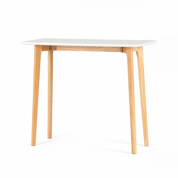 Консоль MitraКонсоли<br>Консоль – это универсальный предмет мебели, которому каждый легко найдет свое применение в быту. Консоль Mitra обладает лаконичным, простым дизайном, благодаря чему она отлично подойдет не только в качестве декоративного элемента интерьера, но и в качестве функционального. Например, на поверхность этой модели можно класть предметы, которые всегда должны быть под рукой, – телефоны, записные книжки, ключи.<br><br><br> Консоль часто играет еще и роль украшения интерьера. Дизайн данного изделия хоть...<br><br>stock: 30<br>Высота: 75<br>Ширина: 38<br>Длина: 90<br>Цвет ножек: Американский белый дуб<br>Цвет столешницы: Белый<br>Материал ножек: Массив дуба<br>Тип материала столешницы: МДФ