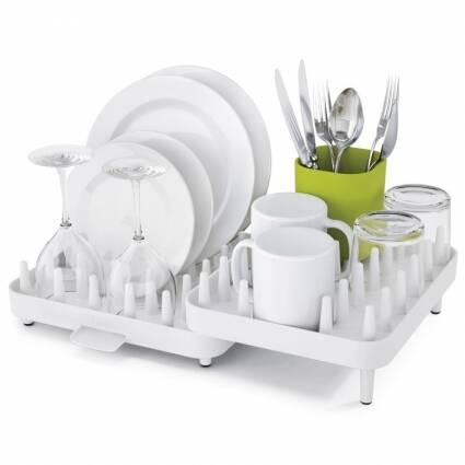 Сушка для посуды ConnectРазное<br><br><br>stock: 0<br>Материал: Полипропилен<br>Цвет: Белый