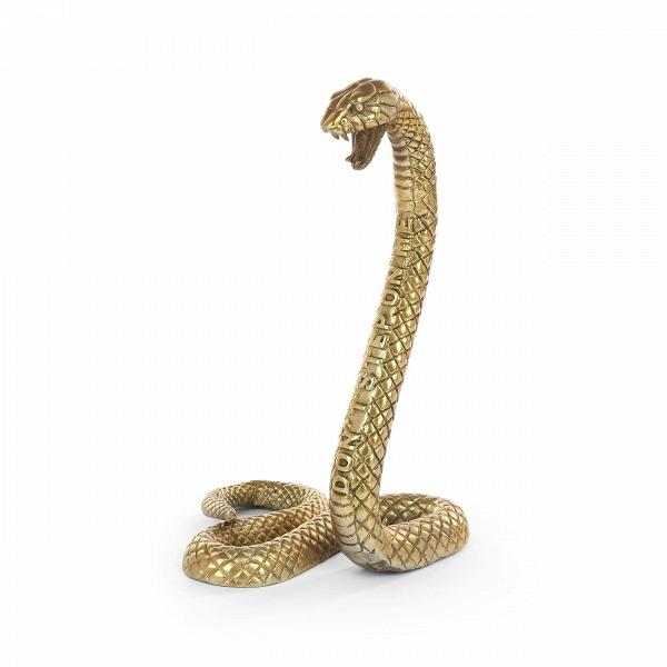 Статуэтка SnakeНастольные<br>Статуэтка Snake способна украсить и оживить любой интерьер. Изделие создано дизайнерами компании Seletti. Компания славится уникальным творческим подходом к созданию любых элементов интерьера – от мебели до декора. Эта модель выделяется тщательно проработанными деталями и красивым золотым цветом.<br><br><br> Статуэтка Snake изготовлена из прочного и надежного алюминия. Современные дизайнеры используют алюминий для создания самых разных элементов интерьера, от стильной мебели до красивейшего деко...<br><br>stock: 3<br>Высота: 43,5<br>Ширина: 26<br>Материал: Алюминий<br>Цвет: Золотой<br>Длина: 25