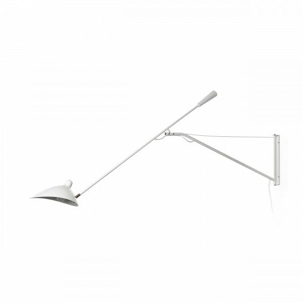 Настенный светильник AveryНастенные<br>Настенный светильник Avery – это удобное функциональное изделие, которое создано украшать большие просторные комнаты. Эта модель светильника отличается великолепно продуманным дизайном. Во-первых, это длинный держатель, благодаря которому освещается большее пространство вокруг. Во-вторых, форма абажура, который мягко рассеивает свет по сторонам. И в-третьих, это возможность поворачивать светильник в любом направлении.<br><br><br> Ценителей современных тенденций в искусстве создания интерьера так...<br><br>stock: 0<br>Диаметр: 30<br>Длина: 150<br>Количество ламп: 1<br>Материал абажура: Алюминий<br>Материал арматуры: Металл<br>Цвет абажура: Белый<br>Цвет арматуры: Белый