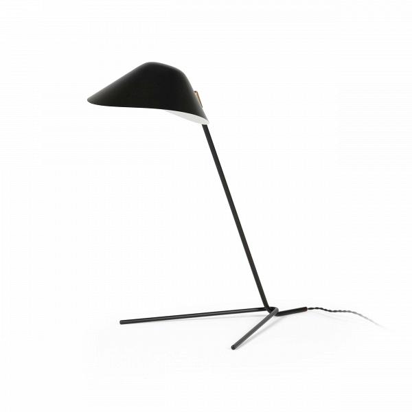 Настольный светильник ColletНастольные<br>Элегантный и простой стиль этой модели цепляет своим удобным дизайном, свет от лампы не будет падать на стол узким лучом, а будет мягко рассеиваться на всю поверхность стола, что обеспечивает лучшее освещение и поможет сделать рабочее место более качественным и комфортным. А еще настольный светильник Collet – это отличное украшение для пространства домашнего кабинета.<br><br><br> Отдельное внимание стоит уделить выбранному для этой модели материалу. Алюминий представляет собой очень легкую, проч...<br><br>stock: 0<br>Высота: 50,5<br>Диаметр: 20<br>Материал абажура: Алюминий<br>Материал арматуры: Металл<br>Цвет абажура: Черный<br>Цвет арматуры: Черный