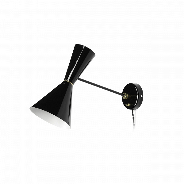 Настенный светильник Stilnovo Style 1 лампаНастенные<br>Настенный светильник Stilnovo Style 1 лампа – это качественное сочетание современного стиля и потрясающей функциональности. Светильник идеален для лофт-пространств, отлично подойдет для больших помещений.<br><br><br> Главное преимущество Stilnovo Style – это направленный широкий луч света, благодаря которому его можно использовать как в качестве дополнительного комнатного освещения, так и в качестве источника света рядом с креслом или диваном, где можно удобно устроиться за чтением интересной к...<br><br>stock: 0<br>Диаметр: 17<br>Длина: 40<br>Доп. цвет абажура: Латунь<br>Материал абажура: Сталь<br>Материал арматуры: Сталь<br>Цвет абажура: Черный<br>Цвет арматуры: Черный