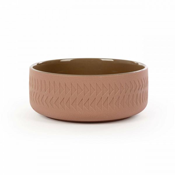 Тарелка Tactile диаметр 15Посуда<br>Коллекция Tactile сочетает в себе черты скандинавского минимализма и яркую геометрию японского стиля. Изделия этой коллекции отличаются необыкновенной красотой пропорций и аккуратного, «тактильного» узора. Все модели выполнены в завораживающих шоколадных оттенках.<br><br><br> Коллекция Tactile включает в себя изящные модели тарелок и мисок, вазы, чашки и другие принадлежности, способные украсить собой любой обеденный стол. Внутренняя полость сосудов идеально гладкая и очень красиво сочетается с ...<br><br>stock: 76<br>Высота: 6,1<br>Материал: Глина<br>Цвет: Коричневый<br>Диаметр: 15