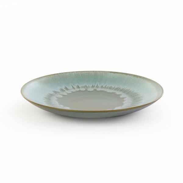 Тарелка Auberge диаметр 22Посуда<br>Посуда в восточном стиле способна преобразить всю обстановку и превратить обычный прием пищи в маленькую церемонию. Коллекция Auberge представляет собой прекрасный набор из посуды, обладающей утонченным дизайном и выполненной в умиротворяющей цветовой гамме.<br><br><br> В коллекцию Auberge входят сосуды самого разного назначения – тарелки для супа, для салата, емкости для соусов и даже кувшины. Особое значение создатели придали материалу, из которого изготавливается набор, это экологически чис...<br><br>stock: 71<br>Высота: 3<br>Материал: Глина<br>Цвет: Зеленый<br>Диаметр: 22