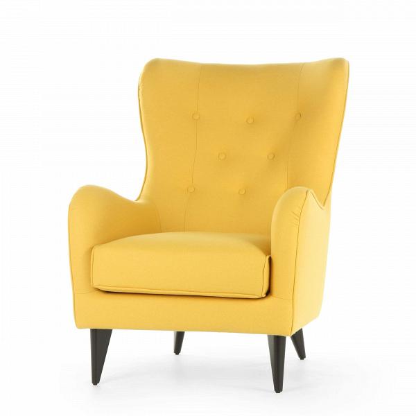 Кресло PolaИнтерьерные<br>Дизайнерское мягкое удобное кресло Pola (Пола) с тканевой обивкой от Sits (Ситс).<br><br><br> Дизайнеры компании Sits, чья мебель имеет выраженные шведские черты, не перестает радовать новыми моделями мягкой мебели. Изящные и невероятно удобные формы кресла Pola помогут вам расслабиться и отдохнуть даже в самый разгар трудового дня. На выбор имеется большое количество вариантов цветового исполнения обивки кресла, благодаря чему вы легко подберете именно то, что лучше всего подойдет вашей комнате...<br><br>stock: 0<br>Высота: 102<br>Высота сиденья: 45<br>Ширина: 77<br>Глубина: 96<br>Цвет ножек: Черный<br>Материал обивки: Шерсть, Полиамид<br>Степень комфортности: Стандарт комфорт<br>Материал пуговиц: Шерсть, Полиамид<br>Цвет пуговиц: Желтый<br>Коллекция ткани: Категория ткани III<br>Тип материала обивки: Ткань<br>Тип материала ножек: Дерево<br>Цвет обивки: Желтый