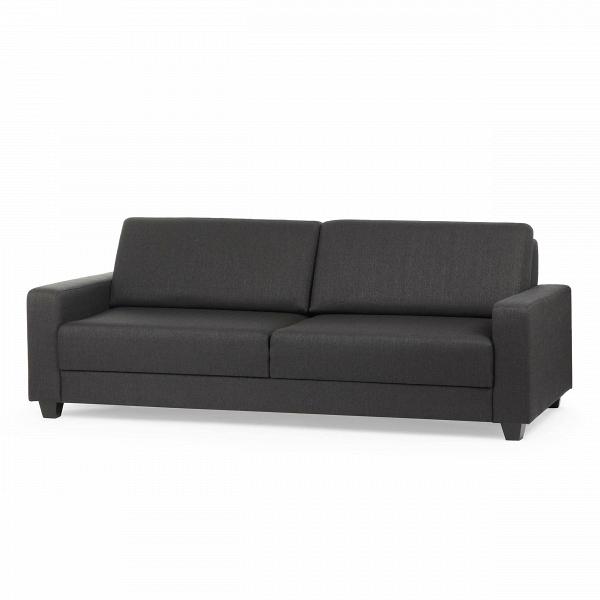Диван BariРаскладные<br>Дизайнерский глубокий раскладной диван Bari (Бари) с обивкой из ткани от Sits (Ситс).<br> Небольшой по размеру диван порой то, что нужно, для маленькой комнаты или небольшой приемной. В таких комнатах лучше всего смотрятся трехместные диваны, которые и создают необходимый комфорт и имеют хорошую вместительность. Диван Bari отлично подойдет для подобных нужд и не только станет отличным местом для вашего отдыха, но и дополнит ваш интерьер легкими приятными цветовыми оттенками.<br><br><br> Оригинальный...<br><br>stock: 0<br>Высота: 86<br>Глубина: 101<br>Длина: 229<br>Цвет ножек: Черный<br>Высота подлокотников: 43<br>Материал ножек: Дерево<br>Материал обивки: Ткань<br>Степень комфортности: Стандарт комфорт<br>Форма подлокотников: Стандарт<br>Цвет обивки: Антрацит