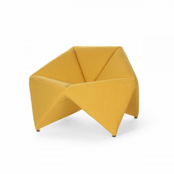 Кресло FoldИнтерьерные<br>Эксклюзивность изделий мебельной компании Softline состоит в потрясающей функциональности и максимальном удобстве использования каждого предмета. Оригинальное кресло Fold (Фолд) от дизайнеров этого бренда выполнено именно в таком инновационном стиле – лаконичность, уникальная комфортная форма и неповторимый дизайн делают эту модель прекрасным вариантом для наиболее современных и удобных интерьеров.<br><br><br> Это изделие наилучшим образом подходит для создания домашнего интерьера. Ткань для оби...<br><br>stock: 0<br>Высота: 67<br>Высота сиденья: 42/45<br>Ширина: 106<br>Глубина: 75<br>Материал обивки: Хлопок, Полиэстер<br>Коллекция ткани: Vision<br>Тип материала обивки: Ткань<br>Цвет обивки: Горчичный