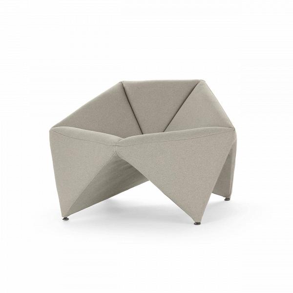 Кресло FoldИнтерьерные<br>Эксклюзивность изделий мебельной компании Softline состоит в потрясающей функциональности и максимальном удобстве использования каждого предмета. Оригинальное кресло Fold (Фолд) от дизайнеров этого бренда выполнено именно в таком инновационном стиле – лаконичность, уникальная комфортная форма и неповторимый дизайн делают эту модель прекрасным вариантом для наиболее современных и удобных интерьеров.<br><br><br> Это изделие наилучшим образом подходит для создания домашнего интерьера. Ткань для оби...<br><br>stock: 0<br>Высота: 67<br>Высота сиденья: 42/45<br>Ширина: 106<br>Глубина: 75<br>Материал обивки: Хлопок, Полиэстер<br>Коллекция ткани: Vision<br>Тип материала обивки: Ткань<br>Цвет обивки: Серо-бежевый