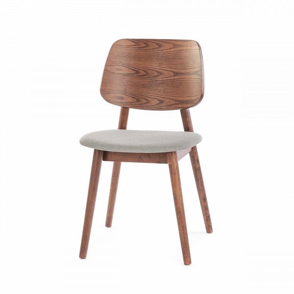 Стул LuusИнтерьерные<br>Простой стиль этой модели делает ее очень функциональной – стул Luus подойдет как для дополнения мебельного ансамбля гостиной комнаты, так и для создания уютной и комфортной обстановки на кухне или в столовой. Стул выполнен в классическом стиле и спокойной цветовой гамме.<br><br><br> На выбор предлагаются различные варианты расцветки под разные породы дерева, однако сам каркас стула изготавливается из прочного и надежного массива ясеня. Изделия из дерева высоко ценятся во многих интерьерных стил...<br><br>stock: 64<br>Высота: 81,5<br>Ширина: 46<br>Глубина: 54,5<br>Цвет ножек: Орех<br>Цвет спинки: Орех<br>Материал ножек: Массив ясеня<br>Материал спинки: Фанера, шпон ясеня<br>Материал сидения: Полиэстер<br>Цвет сидения: Серый<br>Тип материала спинки: Фанера<br>Тип материала сидения: Ткань<br>Тип материала ножек: Дерево