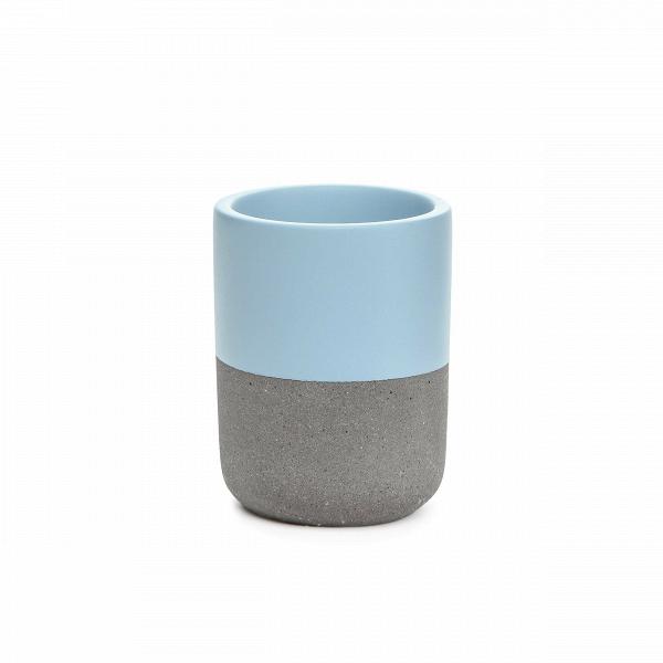 Стакан FuzhouРазное<br>Очаровательный набор из предметов для домашнего быта представляет коллекция Fuzhou – оригинальное решение в минималистичном исполнении для любого интерьера. Коллекция обладает интересным дизайном, который сочетает в себе мягкие, чистые цвета и грубоватый светло-серый оттенок. Такой дизайн идеально подойдет для современных помещений, где присутствуют элементы стиля лофт или брутализм, смешанные с компактными и лаконичными формами и цветовыми палитрами.<br><br><br> Коллекция Fuzhou сделана из бето...<br><br>stock: 97<br>Высота: 9,8<br>Материал: Бетон<br>Цвет: Светло-серый<br>Диаметр: 7,5<br>Цвет дополнительный: Голубой