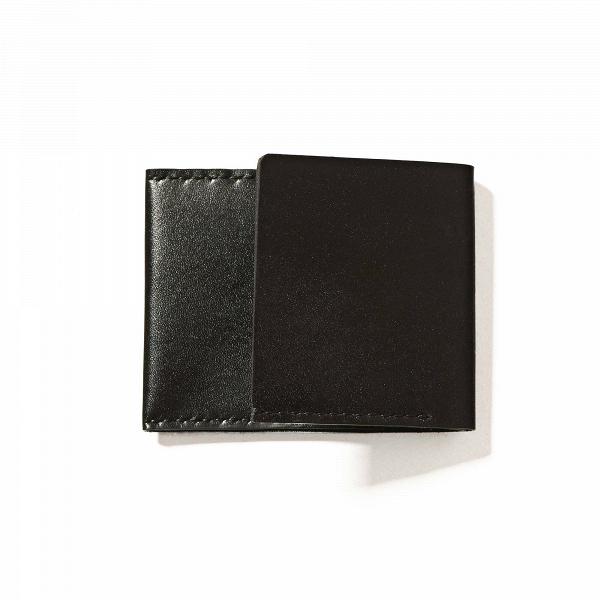 Кошелек Holston, черныйРазное<br>Складной дизайнерский кошелек Holston (Холстон) – это компактное и многофункциональное изделие, которое станет отличным вариантом для хранения пластиковых карт и наличных денег. Бумажник выглядит стильно и элегантно и отлично подойдет для делового стиля.<br><br><br> Дизайнеры компании Long River тщательно следят за качеством своих работ. Оригинальный кошелек Holston, черный выполнен из высококачественной натуральной кожи и прошит нейлоновыми нитями. Такая комбинация – гарант долговечности и изно...<br><br>stock: 0<br>Высота: 8<br>Ширина: 1<br>Материал: Кожа<br>Цвет: Черный<br>Длина: 10