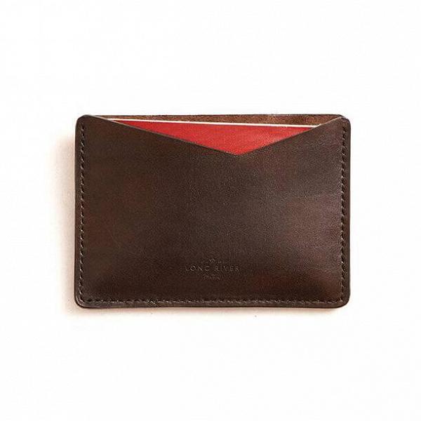 Чехол для паспорта Songhua, коричневый