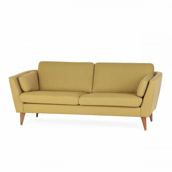 Диван Mynta ширина 200Трехместные<br>Дизайнерский удобный диван Mynta (Минта) классической формы на высоких деревянных ножках от Sits (Ситс).<br> Диван Mynta ширина 200 — произведение дизайнерского искусства компании Sits. Мебель Sits — это дизайн шведской школы, она отличается высоким качеством материалов и широкой цветовой палитрой. Экологичность материалов и профессионализм мастеров позволяют создавать предметы инновационного характера, которые нашли свое признание во всем мире.<br><br><br> Модель Mynta выполнена в стиле модерн, для...<br><br>stock: 0<br>Высота: 82<br>Высота сиденья: 45<br>Глубина: 87<br>Длина: 200<br>Цвет ножек: Орех<br>Материал обивки: Полиэстер<br>Коллекция ткани: Категория ткани А<br>Тип материала обивки: Ткань<br>Тип материала ножек: Дерево<br>Цвет обивки: Горчичный