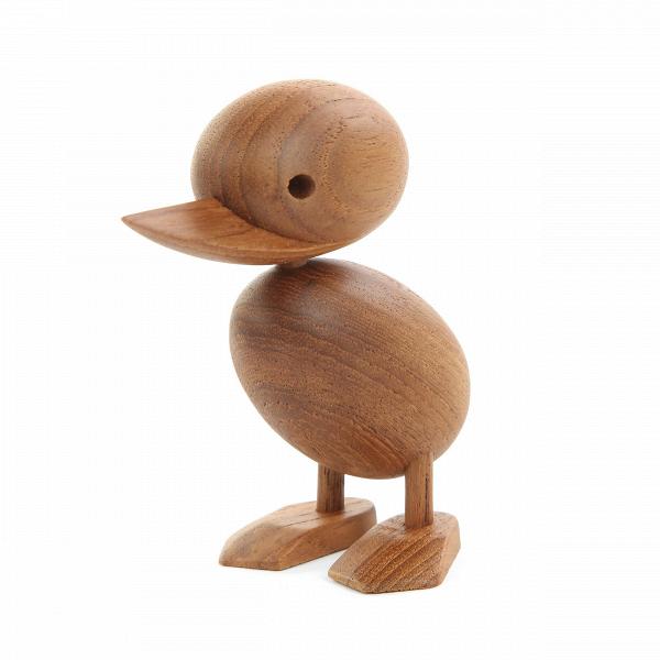 Статуэтка Duck высота 9Настольные<br>Это очаровательное создание привнесет позитивное настроение и уютную атмосферу в любой интерьер. Дизайнерская статуэтка Duck высота 9 станет отличным «компаньоном» в комнате вашего ребенка или оживит и добавит веселой непосредственности в любую другую комнату вашего дома.<br><br><br> Изделия из дерева привносят в дом теплую, душевную атмосферу. И именно из высококачественной древесины изготавливается этот утенок. Массив тика обладает массой свойств, которые ценятся в оформлении интерьеров. Главн...<br><br>stock: 40<br>Высота: 9<br>Материал: Массив тика<br>Цвет: Коричневый