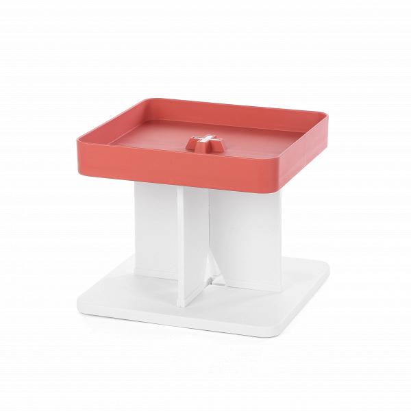 Стеллаж WoodsonСтеллажи<br>Дизайнерский стеллаж Woodson — это уникальная разработка дизайнеров, которая сделает любой интерьер более функциональным и удобным. Вы сможете подстроить под себя размеры и ширину стеллажа, он может остаться небольшой настольной полкой, а может стать полноценным шкафом со множеством полок.<br><br><br> Модель изготавливается полностью из полипропилена. Этот материал ценится за свою практичность, легкость, устойчивость к механическому воздействию и растрескиванию.<br><br><br> Такой материал и ультрасовр...<br><br>stock: 15<br>Высота: 33,5<br>Ширина: 40<br>Глубина: 40<br>Цвет ножек: Белый<br>Цвет столешницы: Красный<br>Материал ножек: Полипропилен<br>Материал столешницы: Полипропилен