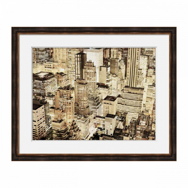 Постер SkyscrapersКартины<br><br><br>stock: 6<br>Ширина: 87,6<br>Цвет: Светло-коричневый<br>Длина: 107,6